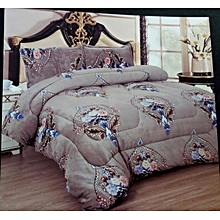 4PC Woolen Duvet Set - 6x6 - Multicolor