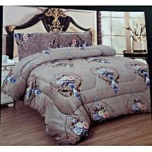 4PC Woolen Duvet Set - 6x6 - Multicolor