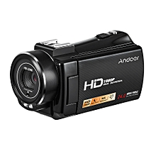 "1080P Full HD 24MP Portable Digital Video Camera Camcorder Remote Control Infrared Night Vision Recorder 16X Zoom 3.0"" Rotary LCD with Hot Shoe Mount"