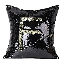 Double Color Glitter Sequins Throw Pillow Case Cafe Home Decor Cushion Covers