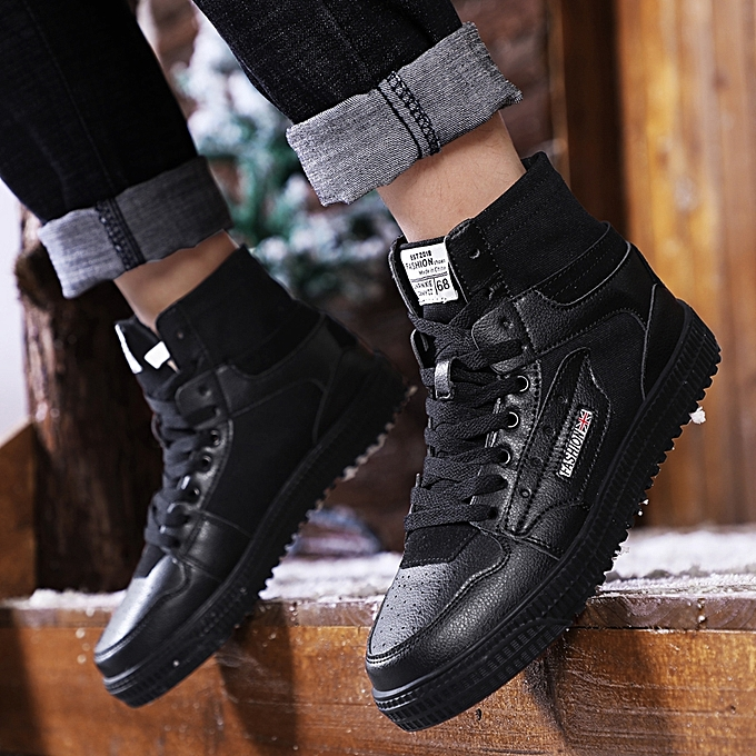 afddc0ae5 EUR 36-46 High Top Men Shoes Cool Hip Hop Shoes Men Casual Shoes Fashion