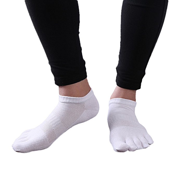 Shop For Cheap 1 Pair Mens Cotton Toe Sock Pure S Five Finger Socks Breathable 6 Colors New Underwear & Sleepwears
