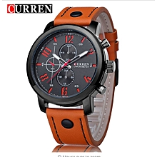 CURREN Men Watches 2018 Top Selling Fashion Male Clock Rose Gold Quartz Watch Men Business Wristwatch Relogio Masculino