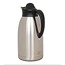 2L Vacuum Thermos Flask - Stainless Steel .
