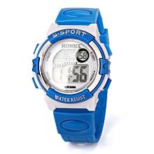 HONHX Africashop Watch  Multifunction Sports Electronic Sport Digital Wrist Watch For Child Girl Boy-Sky Blue