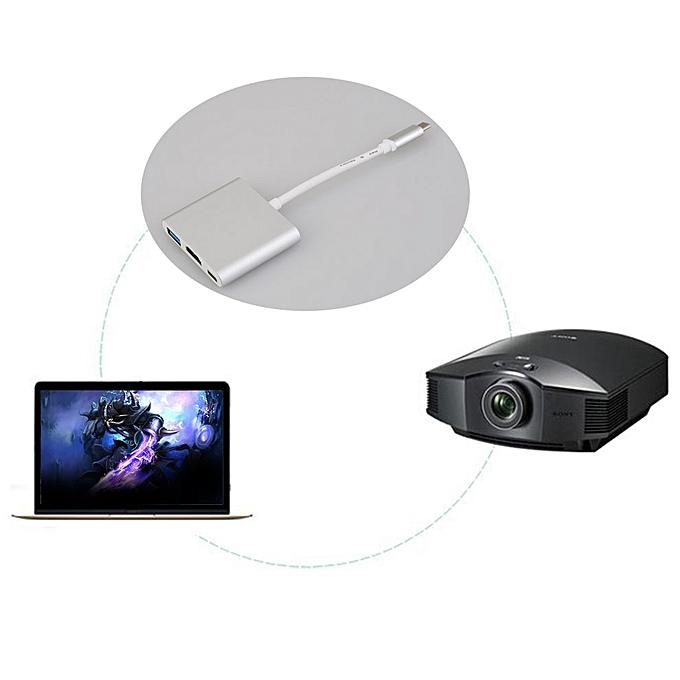 Buy Cocobuy Universal Usb 3 1 Multiport Adapter Usb To