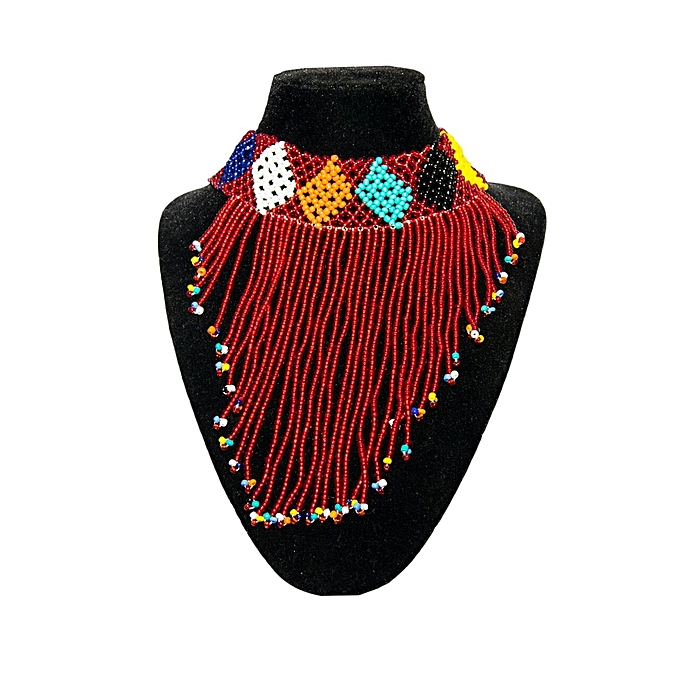 buy dayatuls collection african beaded necklace best price online
