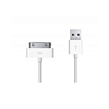 iPhone2/3/4/ipad2/3/4/ipod - Charger/data Cable - White