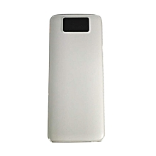 Digital mobile power 10,000 mA white T8