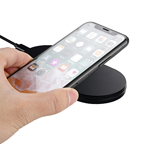 reputable site fcdc7 45c65 Q100 Wireless Charger Plate Qi Wireless Charging Pad Breathing LED for  iPhone X 8 Plus Samsung S8 Plus Qi-enabled Devices