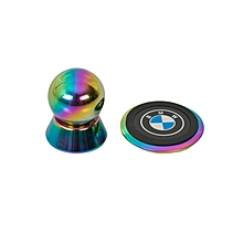 Mobile Phone Holder with BMW Logo - Gold
