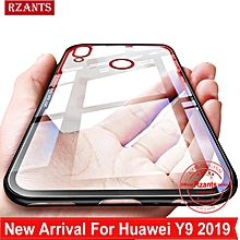 Rzants For Huawei Y9 2019 Case【1.0MM Touch】Hybrid Protective Clear Soft Back Phone Casing