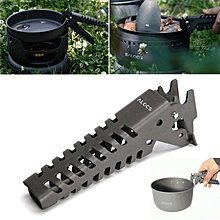 Alocs CW-G03 Outdoor BBQ Tong Picnic Cookware Gripper Pot Pan Bowl Anti-skid Hand Clamp