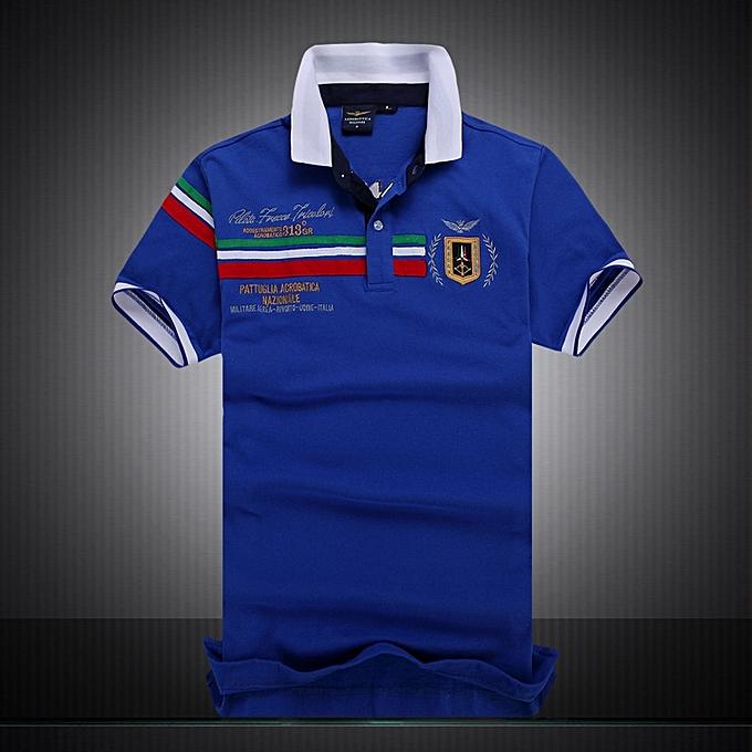 da1337c6361 Casual brand Men s SUMMER Air Force Polo Shirt Embroidery Aeronautica  Military For Men Polo Shirt-