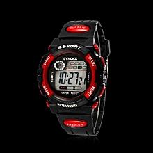 Tectores 2018 Fashion Multifunction Waterproof Cool Mens Boy&#39s LED Quartz Alarm Date Sports Wrist Watch A