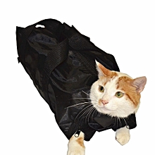 Cat Bag Trimming Grooming Pet Accessories New Mesh Cat Bathing Bag No Scratching Biting Restraint For Bathing Nail Examing
