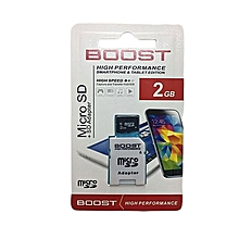 Memory card 2GB- Boost Micro SD