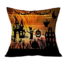Halloween Pillow Case Sofa Waist Throw Cushion Cover Home Decor