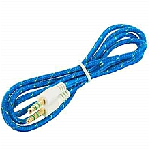 Auxillary Cable - Blue.