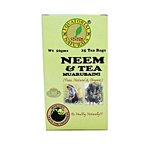 Natural Health Neem & Tea Bags - 50g