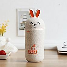 Nordic Style Rabbit Tea Cups Eco-Friendly Cup Coffee Tea Milk Drink Bottle beige