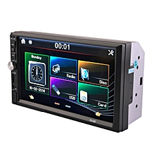 """7"""" Double 2Din Car Radio MP5 Stereo Player Touch Screen Bluetooth Rear Camera"""