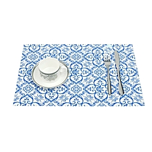 Placemat Table Mat Disc Pads Bowl Pad Coasters Waterproof Table Cloth  Pad Slip-Resistant Pad