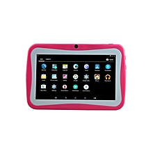 """Kids Learning Tablet K76 - 7"""" - 8GB HDD - 512MB RAM  - Wi-Fi - Android - Pink"""