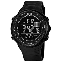 Male Sport Watch Electronic LED Digital Wrist Watches Stopwatch Alarm Luminous Water Resistant For Men Cloc k