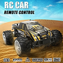 1/16 4WD 2.4GHz High Speed Radio Remote Control RC Racing Buggy Car Off Road RTR Yellow