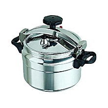 Generic Pressure Cooker - Explosion Proof - 5 Litres - Silver