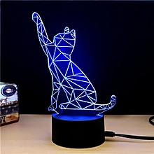 TD065 Creative Animal 4D LED Lamp - Colorful