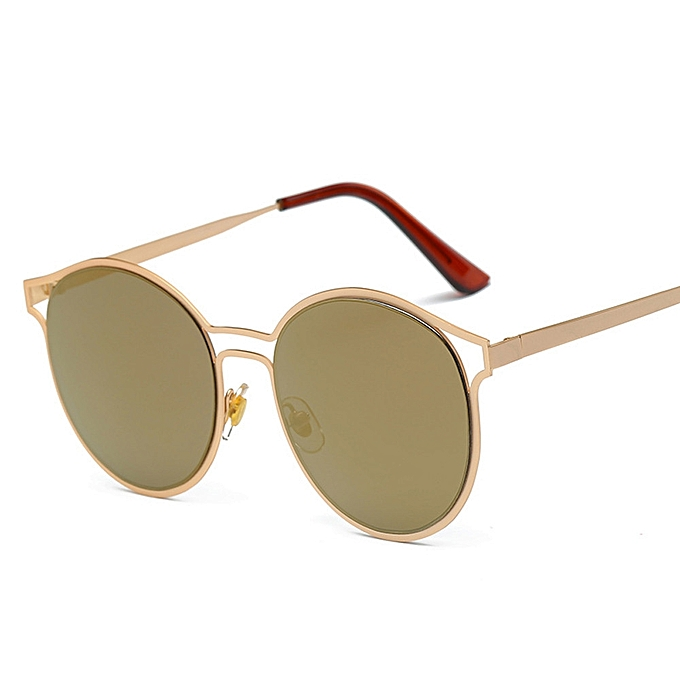 90953c7fcbe Women Men Vintage Retro Glasses Unisex Fashion Aviator Mirror Lens  Sunglasses