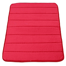 Memory Foam Bath Bathroom Bedroom Floor Shower Mat Rug Non-slip Water Absorbent Red wine