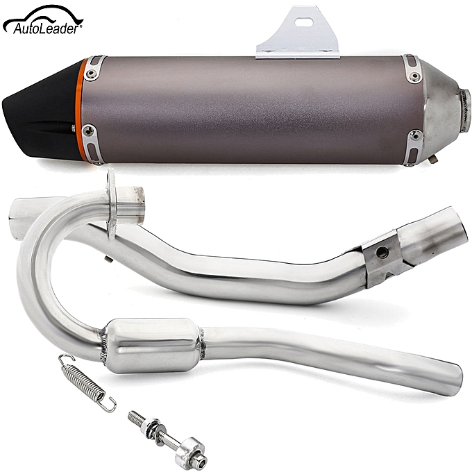 FULL EXHAUST MUFFLER PIPE SYSTEM FOR HONDA CRF150F CRF230F 38MM