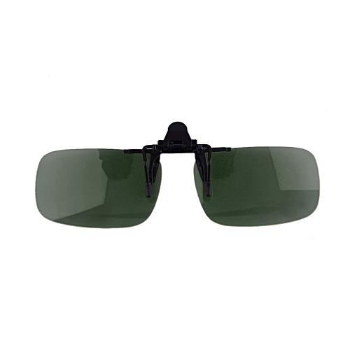 b18e943d23e Allwin Unisex Driving Night Vision Clip-on Flip-up Eyewear Polarized Lens  Anti-UV 400   Best Price