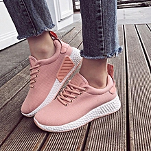 New Fashion Women's Ladies Girls Breathable Ankle Sneakers Non-slip Walking Running Jogging Trainers Fitness Casual-EU
