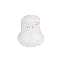Salty Water Instant Shower Heater - White