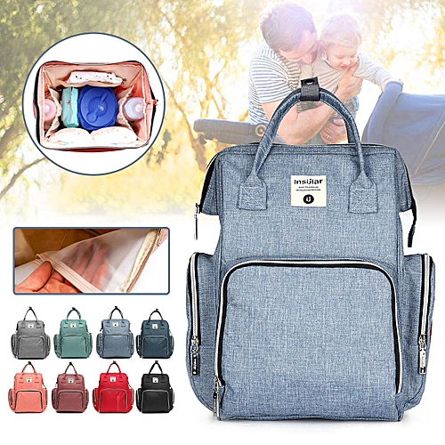 f5ddf9e5c243 Waterproof Maternity Nappy Baby Diaper Travel Backpack Mummy Bag Large  Capacity