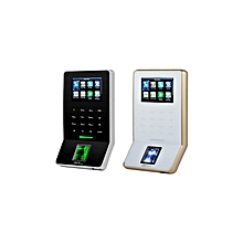 F22 Ultra thin fingerprint time   attendance and access  control  terminal - White