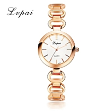 Women Dress Watches Fashion Rose Gold Quartz Watches Ladies Luxury Women Bracelet WristWatches Gift Clock Dress Watches Gold