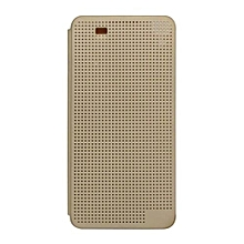 Dot View Case for HTC Desire 10 pro - Gold