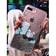 iPhone X/8/8 Plus/7/7 Plus/6S/6S Plus/6/6 Plus Phone Case Brief Coffee Pattern Phone Cover____IPHONE 8 PLUS____as the picture