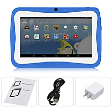 "7"" Kids Tablet PC 1.5GHZ Quad Core 8GB WIFI Android Tablet 1024x600 Screen blue"