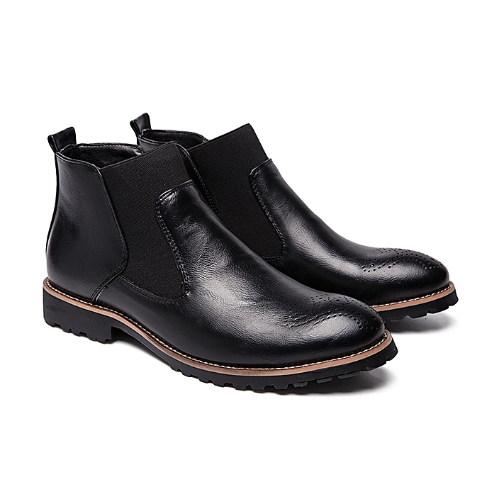 ... EUR Size 38-46 Men Chelsea Boots Ankle Boots Fashion High Quality  England Men s Leather ... 5af40179ec