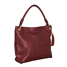 Maroon Satchel Bag