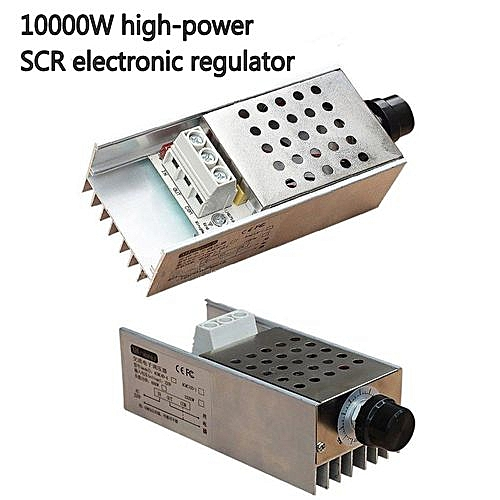 AC220V 10000W High Power SCR Electronic Regulator Speed Controller Control  Motor