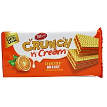 Cream Wafers - Orange,153g
