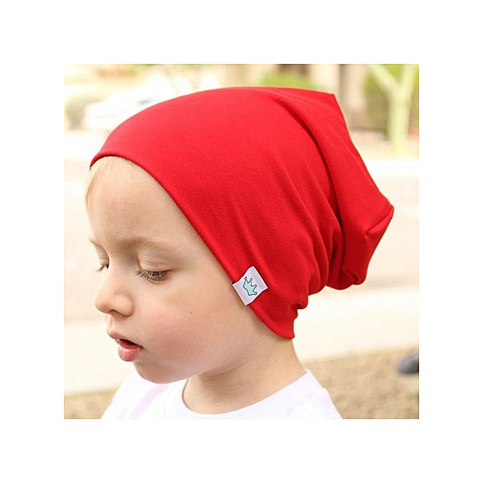 bc498fe0c75 Braveayong Toddler Kids Baby Boy Girl Infant Cotton Soft Warm Hat Cap  Beanie RD - Red