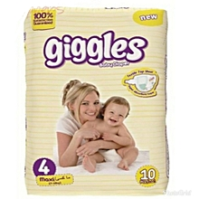 New Born Baby Protection Diapers Size 4 ( 10 Count)